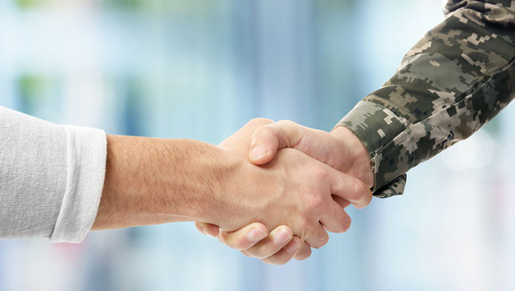 Outreach to Transitioning Veterans