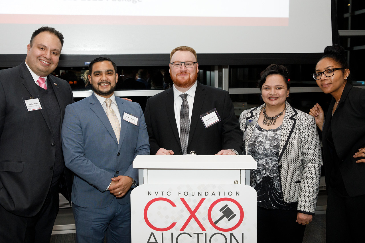 Sixth Annual NVTC Foundation CXO Auction Raises $45,000 for the NVTC Veterans Employment Initiative